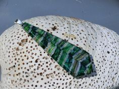 Emerald green mammoth tooth ivory