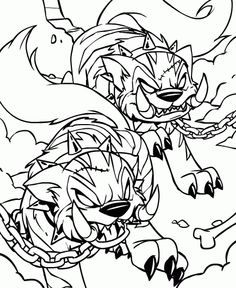 neopets print out coloring pages - photo#50