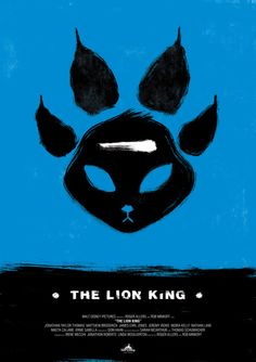 Minimalist Movie Posters: The Lion King