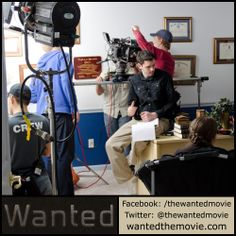 First Assistant Director Andrew Bolzman on the set of Wanted.  #shortfilm #indiefilm #adoption #fostercare