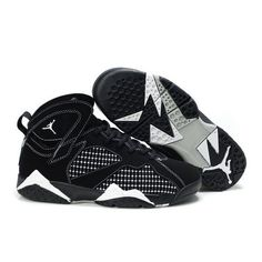 Durable Air Jordan 7 White Black Women Shoes For $65.30 Go To:  http://www.basketball-mall.com
