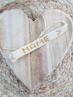 Pretty Names, Bead Loom Bracelets, Bohemian Bracelets, Name Bracelet, Loom Beading, Boho Gypsy, Sell On Etsy, Seed Beads, Layering