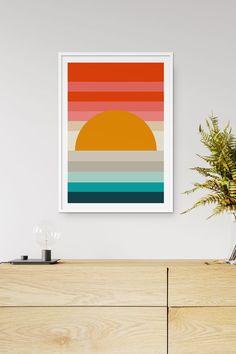 Art Print by Fluorama Sheet Music Art, Stoff Design, Typography Poster Design, Arte Pop, Mondrian, Home Decor Wall Art, Minimalist Art, Diy Painting, Collage Art