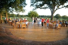 The patio at Mirimichi Golf Course | by jtimberlaketennman