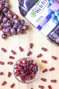 This is an easy, healthy Homemade Gummy Bear Fruit Snacks recipe! It is made… This is an easy, healthy Homemade Gummy Bear Fruit Snacks recipe! It is made with only 3 ingredients: Welchs Grape Juice, honey, and Gelatine! Homemade Gummies, Homemade Gummy Bears, Homemade Recipe, Fruit Snacks Homemade, Healthy Snacks For Kids, Healthy Fruits, Simple Snacks, Baby Food Recipes, Healthy Recipes