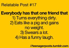 "The blog that describes your life! ""Teenager Posts"" is a relatable blog full of witty posts, quotes,..."
