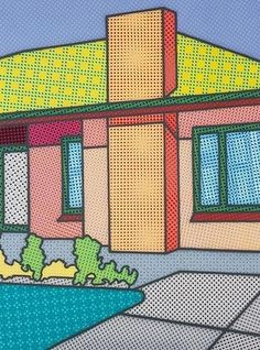 Would you donate to help Howard Arkley painting find a home? National Gallery of Victoria launches online fundraising campaign Magnum Opus, Mondrian, Howard Arkley, Musica Punk, Melbourne, Art Programs, Australian Artists, Chinese Art, Art Education