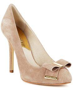 MICHAEL Michael Kors Shoes, Delphine Pumps - Pumps - Shoes - Macy's