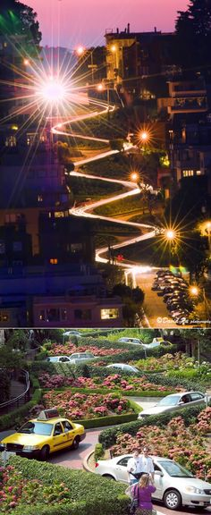 Lombard St – San Francisco