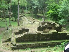 Copan Ruinas - Honduras - Copan Ruins park! Super detailed sculpture!