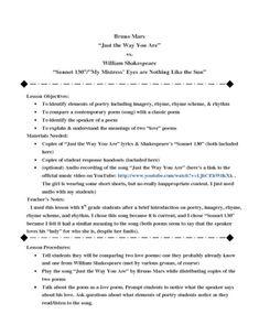 sonnet 130 vs the passionate essay
