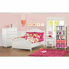 Cafekid Alexia 3 Piece Twin Trundle Bedroom Set | Dingding | Pinterest |  Big Girl Rooms, Bedrooms And Room