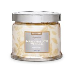 Marshmallow Vanilla— the pure, familiar sweetness of a marshmallow and whipped vanilla delight drizzled with caramel and brown sugar.