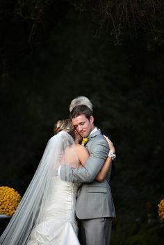 wedding photography - jasmine star - real wedding - shannon & jody - bride & groom - ceremony - first kiss