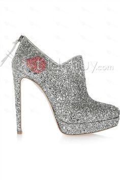 Preety Sivel Platform Stiletto Heels Prom Shoes : Tidebuy.com
