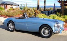1955 Austin Healey 100 Front