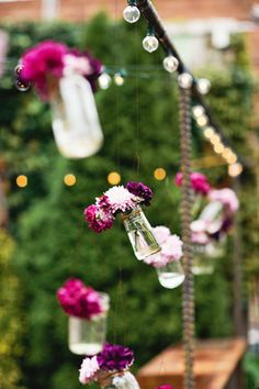 creative flower ideas - wedding decorations - bridal flowers - wedding flowers