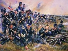 "Fucilieri inglesi del 95 rgt. inglese ""Rifles"""