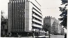 BU-F-01073-6-00055-011 Palatul Aro (acum Cinematograful Patria). Bucureşti, 1935 (niv.Document) Co Housing, Romania, Building, Memories, Bucharest, Souvenirs, Buildings, Construction, Remember This