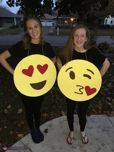 Molly: My friend and I decided to make matching costumes this year, and after much thought, we came up with the idea for an Emoji costume. We figured most people would...