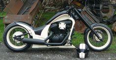 Honda Bobber, Bobber Bikes, Honda Bikes, Shadow Bobber, Honda Shadow, Suzuki Volusia, Motos Harley Davidson, Chopper Bike, Vintage Motorcycles