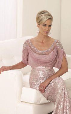 NewYorkDress Blog // Modest Sophistication // Click through for more fabulously modest options // Dress: #MonCheri 112909
