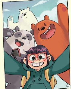 We bare bares limited edition wallpaper get now Cute Panda Wallpaper, Funny Iphone Wallpaper, Bear Wallpaper, Cute Wallpaper Backgrounds, Disney Wallpaper, We Bare Bears Wallpapers, Panda Wallpapers, Cute Cartoon Wallpapers, Ice Bear We Bare Bears
