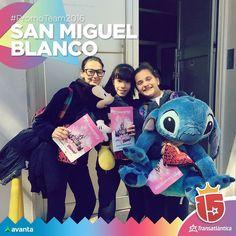 Estar cada día un poquito más cerca de #Disney!! Ese es el sueño que cumplimos con las chicas de San Miguel Blanco y el #promoTeam2016!#avanta #transatlántica #enjoy15