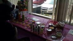 Tamorahs table display