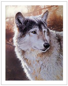 wolf painting demo, acrylic painting lesson, wildlife tutorial, acrylic art instruction