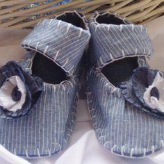 Blue Flower Babies Shoes £11.49