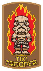 Tiki Trooper Patch