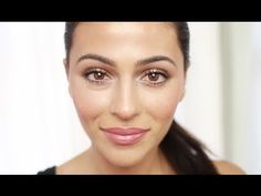Watch how the gorgeous Teni Panosian uses theBalm's Betty Lou-Manizer Bronzer, Instain blush, Time Balm Concealer and Nude 'Tude Palette to get this bright, fresh faced look.