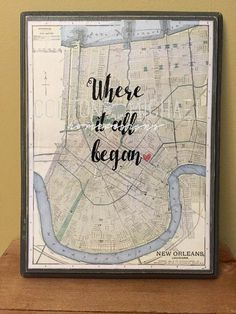 Hey, I found this really awesome Etsy listing at https://www.etsy.com/listing/254697733/where-it-all-began-map-engagement