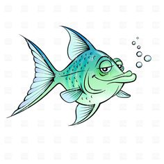 Fish Cartoon Clip Art | Free Clip Art Picture of a Pink Girl Fish ...