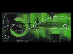Abstract Acrylic Painting - Abstract Art  - Nova By Roxer Vidal