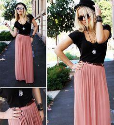 Loving long skirts!!