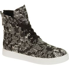 Supra Joplin Skate Shoe ($40) ❤ liked on Polyvore featuring women's fashion, shoes, sneakers, supra sneakers, rubber sole shoes, tall shoes, zip shoes and flexible shoes