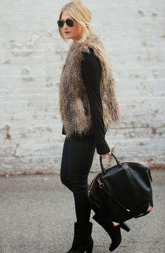 O pêlo é uma super tendência desta estação fria - entrem em qualquer loja e vão ver que se deparam logo com várias peças peludas. Desde cas...
