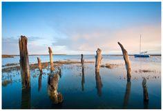Thornham At Sunrise On The North Norfolk Coast