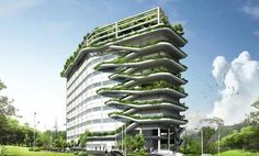 Ken Yeang's Human Research InstituteThe Aesthetics of Green Buildings