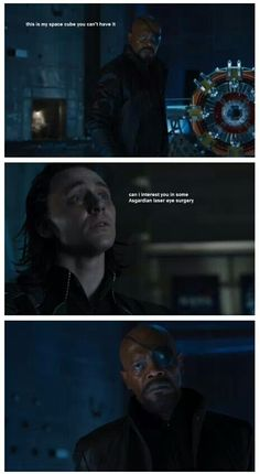 OH SNAP!!! I literally laughed out loud,and this really is something Loki and his sassiness would say