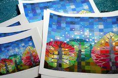 Backyard with Stars prints
