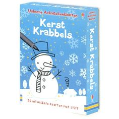 Activity cards Christmas kerstkrabbels | uitgeverij usborne