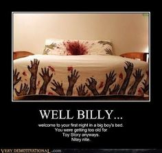 Awesome bed sheets.