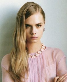 """Love Out of Lust"": Cara Delevingne by Annabel Mehran for Lula #14    FIERCE PINK"