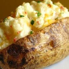 Weight Watchers Loaded Baked Potatoes ~ 1 Point ~ 2 Points+