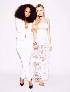 "perriemtv: """"Perrie and Leigh Anne for Our World "" """