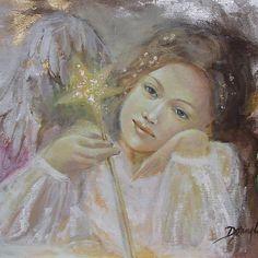 Angel by dorina costras D N Angel, My Guardian Angel, Angel Artwork, Angel Paintings, Angel Guide, Angel Images, I Believe In Angels, Angel Crafts, Angel Numbers