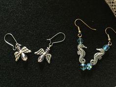Angels and Oceans earrings
